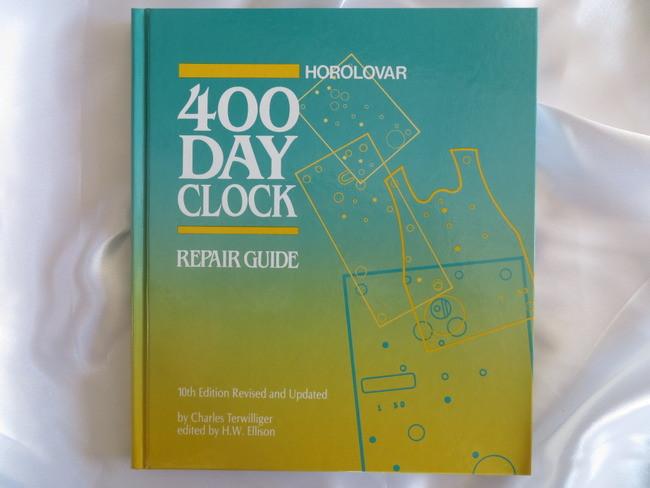 400 day clock parts, items for repairing anniversary clocks.
