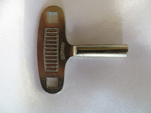 #3 - 3.0mm German Steel 400 Day Clock Key