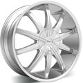 "22"" AZARI 287 22X9.5 CHROME 5X5.0 5X135  +15"