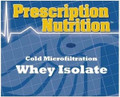 COLD MICROfiltered WHEY ISOLATE