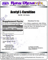 Acetyl L-Carnitine Powder (100 Grams)