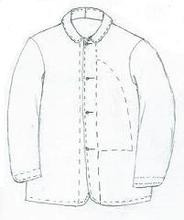 GRSP-104 Boy's sack coat pattern