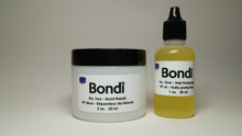 Bondi is a simple anti-oxidant system that helps to repair and restore damaged bonds of the hair from over-processing of bleach and strong chemicals in high lift tint and relaxers. It works during the bleaching, hi-lift color processes, and the neutralizing of relaxers, protecting the integrity of the hair, while helping to rebuild the disulphide sulfur bonds that hold keratin within the hair. It enhances the conditioning power of keratin treatments. Bondi works with any brand of high lift tint, bleach, keratin treatment and Relaxer (neutralizer). Bond repair while performing most salon services.