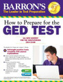 How to Prepare for the GED Test 2014  (Barron's) - w/ CD
