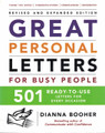Great Personal Letters for Busy People  (Dianna Booher) - Used