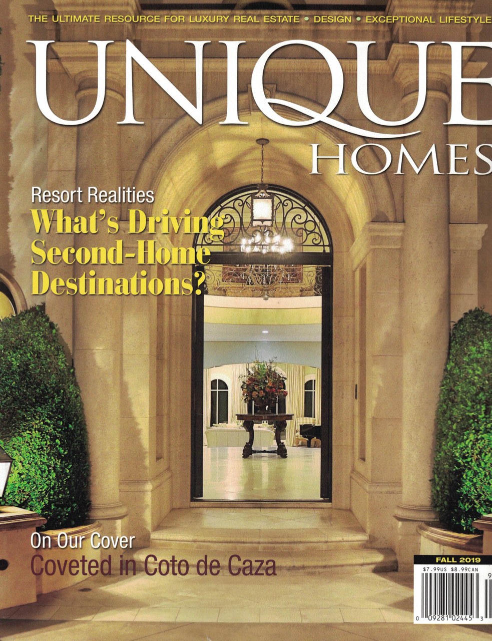 Unique Homes + Luxury Real Estate (2 mags!) - Books to Inmates
