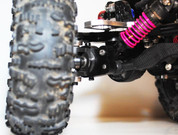 MRC Front Bomb Proof Shock/Link Mounts - Black
