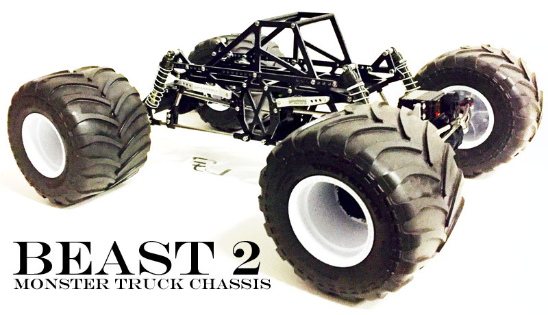 Beast 2 - Monster Truck Chassis Kit