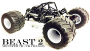BWD Beast 2 - G10 Monster Truck Chassis Kit