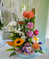 Colorful Mixed Floral Arrangement