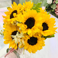 Sunflowers Vase Arrangement