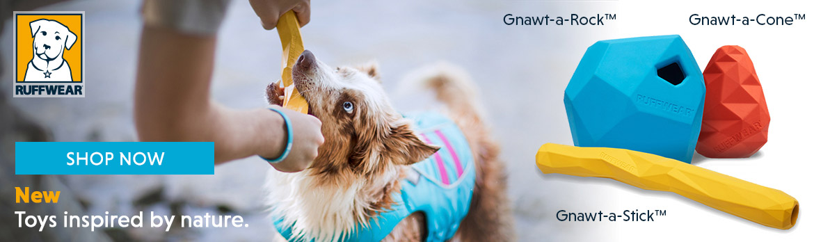Shop Ruffwear Gnawt Toys range at K9active