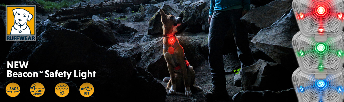 Ruffwear Beacon. The Safety Light for dogs