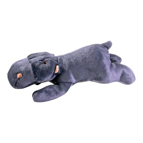 Fluff & Tuff Helga Hippo Dog Toy