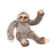 Fluff & Tuff Tico Sloth tough plush dog toy.