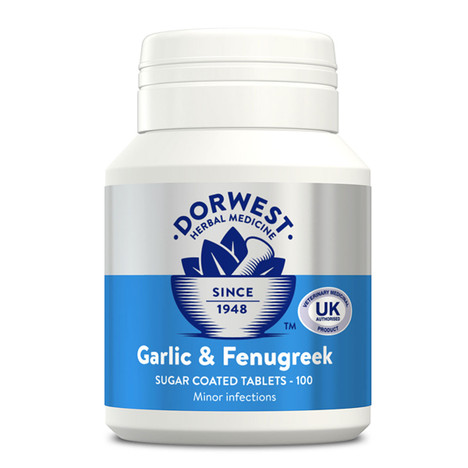 Dorwest Garlic & Fenugreek Tablets for dogs