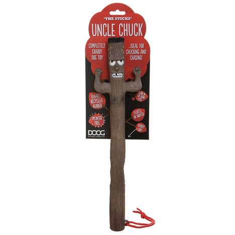 Uncle Chuck the sticks dog fetch toy by DOOG