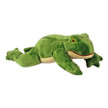 Olive Frog by Fluff & Tuff plush dog toy.