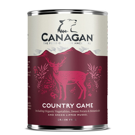 Canagan Country Game Tinned Dog Food