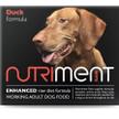 Nutriment Adult Duck Formula RAW Dog Food.