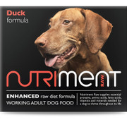 Nutriment Adult Duck Formula RAW Dog Food.