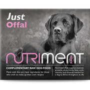 Just Offal - Nutriment Raw Dog Food