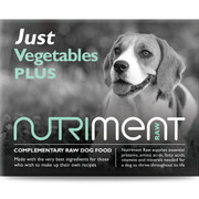Just Vegetables - Nutriment RAW Dog FOOD