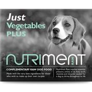 Just Vegetables - Nutriment RAW Dog FOOD