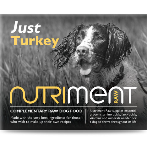 Nutriment Just Turkey For Dogs