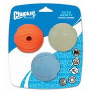 Chcukit Fetch Medley Pack of 3 Dog Balls