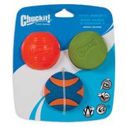 Chuckit Fetch Medley 2.0 Dog Ball Pack