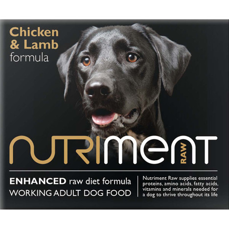 Nutriment RAW Dog food Chicken and Lamb Formula