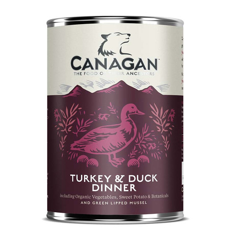 Turkey and Duck Dinner by Canagan for Dogs