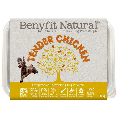Benyfit Natural Tender Chicken Premium RAW Dog Food