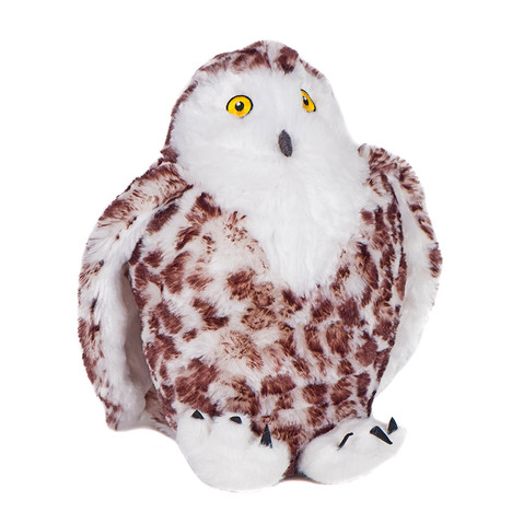 Animal Instincts Snow Mate Suri Owl. Plush dog toy