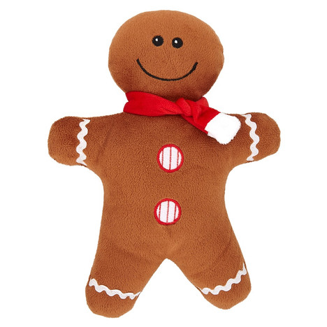Gingerbread Man Christmas dog toy from Good Boy