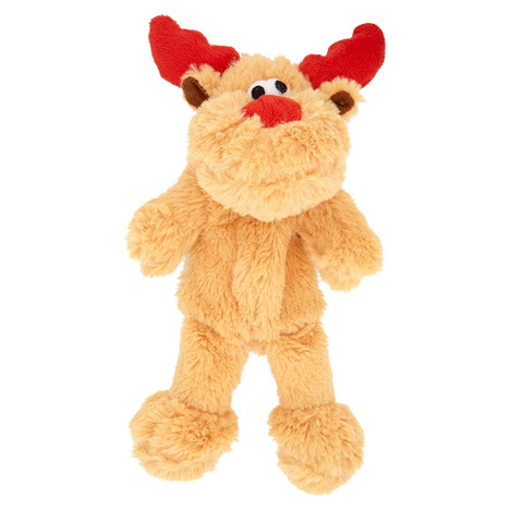 Christmas Raggy Reindeer Soft Dog Toy from Good Boy