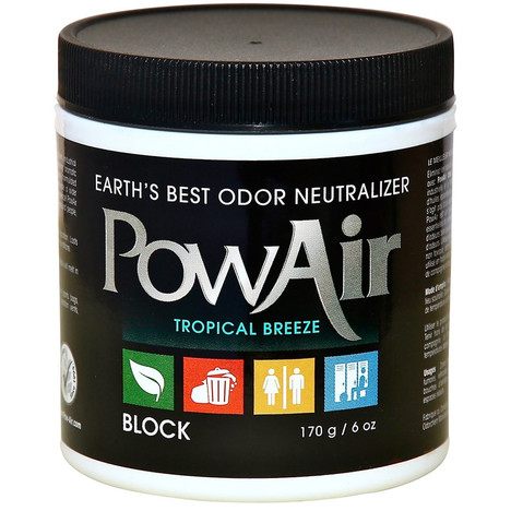 PowAir Block Odour Neutraliser Tropical Breeze