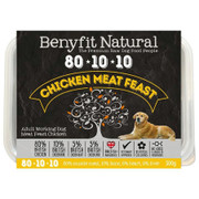 Benyfit Natural RAW 80:10:10 Chicken Meat Feast dog food