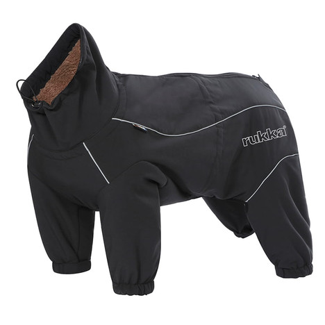Rukka Thermal Overalls for dogs in colour Black