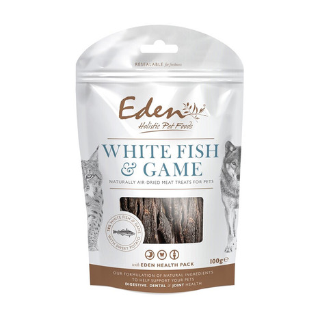 Eden Holistic White Fish and Game Dog Treats