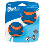 Chuckit Ultra Squeaker Medium pack of 2 balls