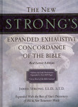New Strong's Expanded Exhaustive Concordance Of The Bible [Hardcover]