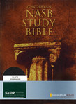 NASB Study Center Column Reference Bible Bonded Leather Black