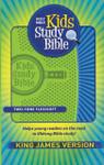 KJV Kids Study Bible Flexisoft Green and Blue