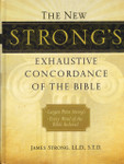 New Strongs Exhaustive Concordance Large Print [Hardcover]