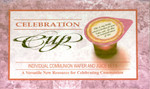 Celebration Communion Wafer & Juice All-In-One Pack of 3