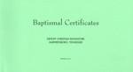 DeHoff Baptismal Certificates