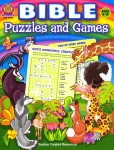 Bible Puzzles and Games Ages 8-12