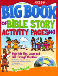 Big Book of Bible Story Activity Pages #1